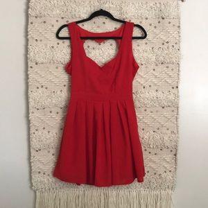 Tea & Cup heart cut out dress ❤️